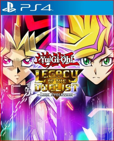 Yu-gi-oh! Legacy of The Duelist Link Evolution ps4 midia digital