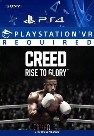 CREED RISE TO GLORY VR PS4 PSN MÍDIA DIGITAL