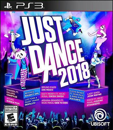 JUST DANCE 2018 PS3 MÍDIA DIGITAL