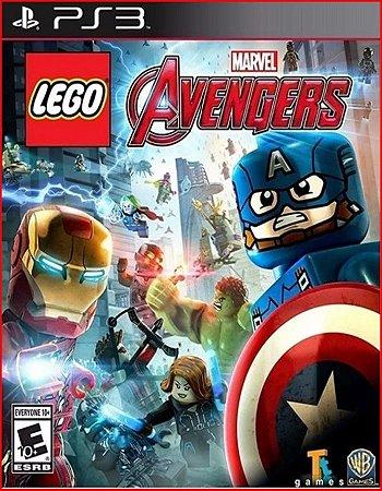 LEGO MARVELS AVENGERS PS3 PSN MÍDIA DIGITAL
