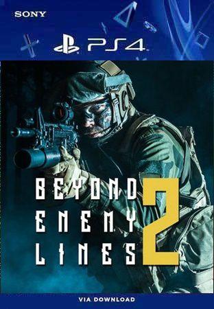 BEYOND ENEMY LINES 2 PS4 MÍDIA DIGITAL
