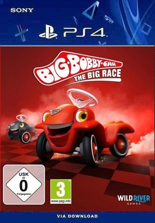 BIG-BOBBY-CAR THE BIG RACE PS4 PSN MÍDIA DIGITAL