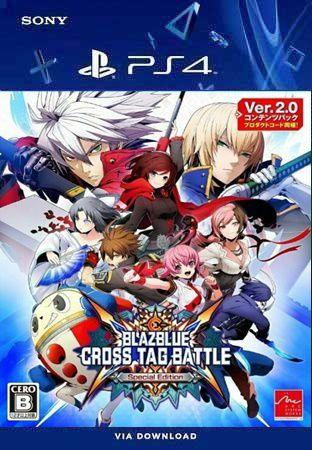 BLAZBLUE CROSS TAG BATTLE ESPECIAL EDITION PS4 PSN MÍDIA DIGITAL