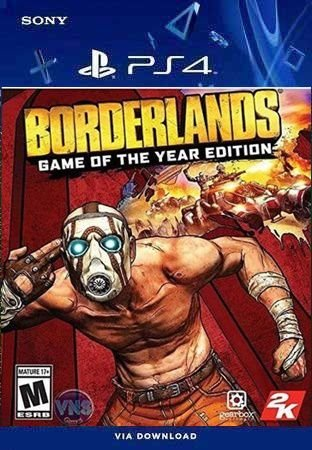 BORDERLANDS GAME OF THE YEAR EDITION PS4 MÍDIA DIGITAL