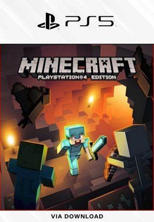 Minecraft Ps5 psn Midia Dígital