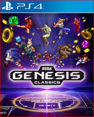 SEGA GENESIS CLASSICS PS4 MÍDIA DIGITAL