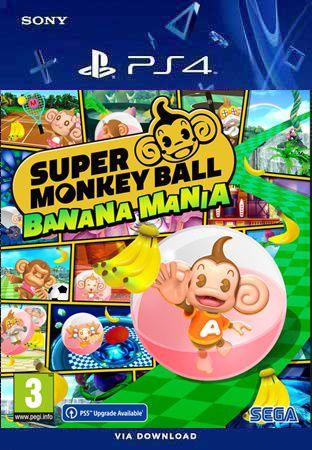 SUPER MONKEY BALL BANANA MANIA PS4 MIDIA DIGITAL