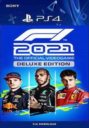 F1 2021 deluxe edition ps4 midia digital