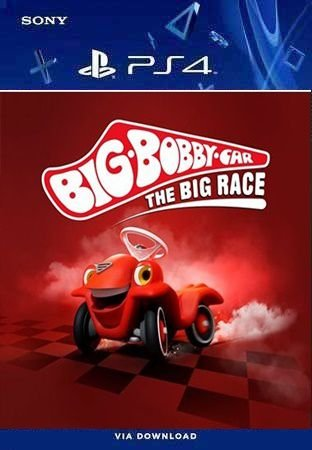 BIG-BOBBY-CAR THE BIG RACE PS4 MIDIA DIGITAL