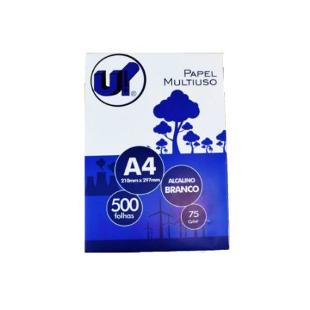 Papel A4 pacote 500 folhas 75g