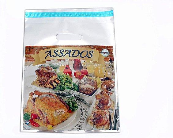 SACO HOT PACK PARA  ASSADOS (30X35+3)