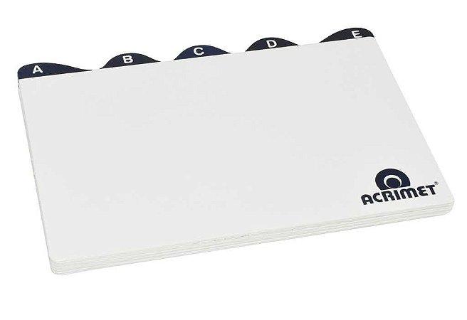 Indice Acrimet 633  de az para fichario de mesa 5x8