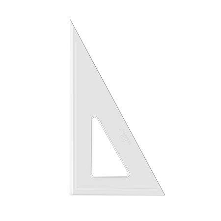 Esquadro Acrimet 540 de 30 x 60 graus com 21 cm de comprimento SEM ESCALA