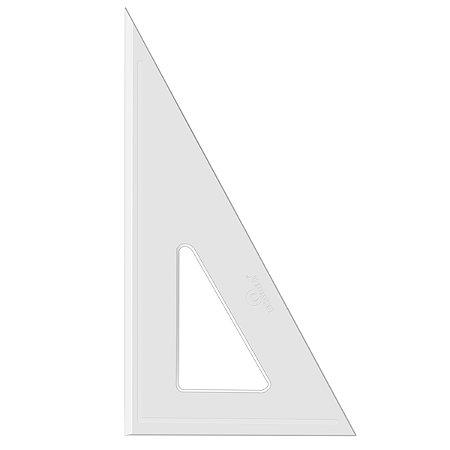 Esquadro Acrimet 540 de 30 x 60 graus com 26 cm de comprimento SEM ESCALA