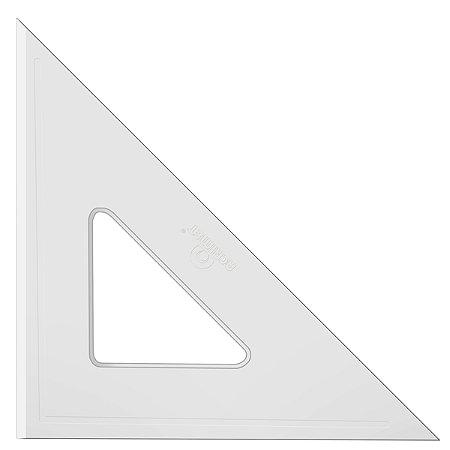Esquadro Acrimet 540 de 45 graus com 26 cm de comprimento SEM ESCALA