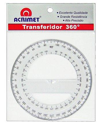 Transferidor Acrimet 552 de 360º