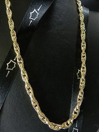 Corrente Cartier Trançada 21 Gramas Ouro 18K
