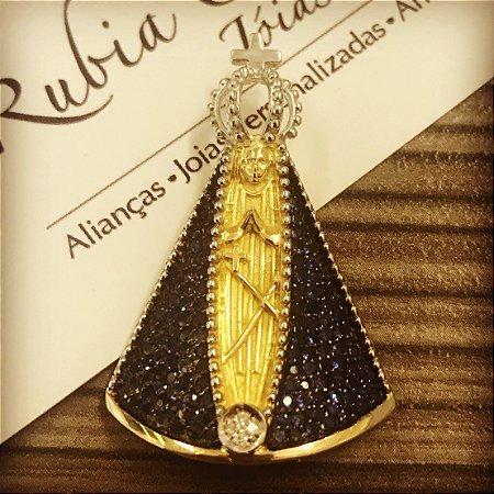 Nossa Senhora Safiras e Diamantes Grande
