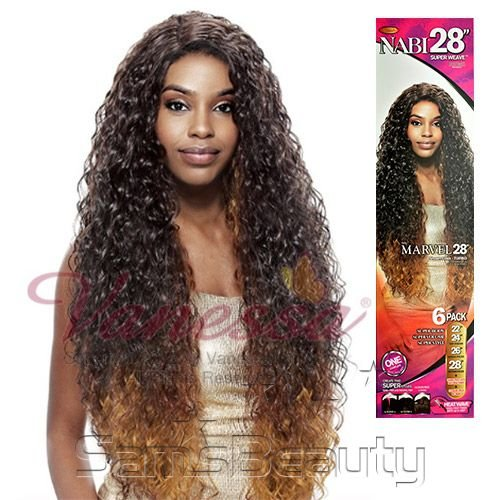 APLIQUE VANESSA SYNTHETIC HAIR WEAVE NABI SUPER MARVEL 6PCS
