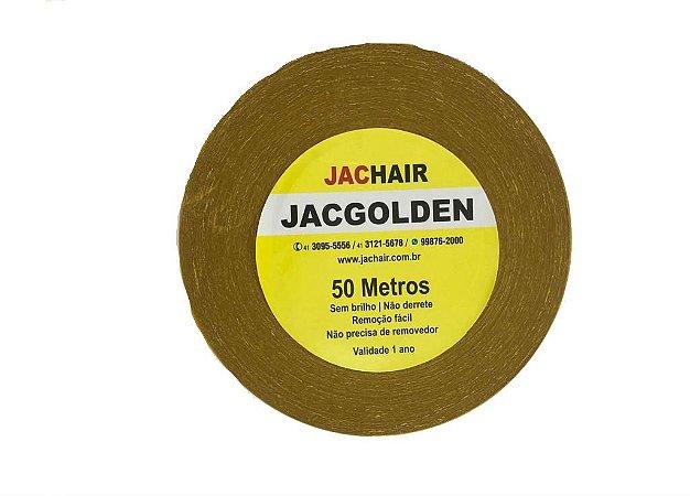 Fita Amarela Q/ Não Mela 50 Metros + Removedor 100ml Jachair