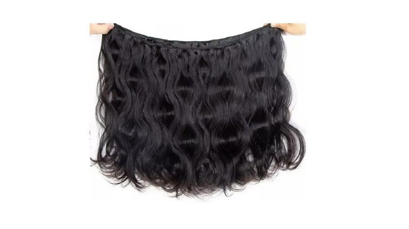 Mega Hair Costurado Cabelo Humano 50cm 50g Ondulado Jachair