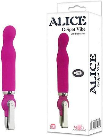 Vibrador Alice G-Spot