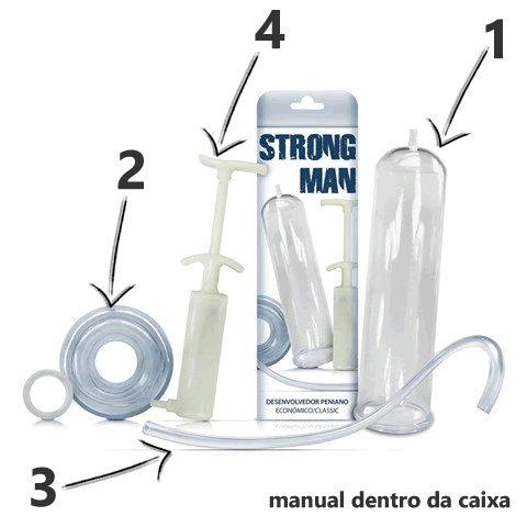 Bomba Peniana Strong Man + Brinde