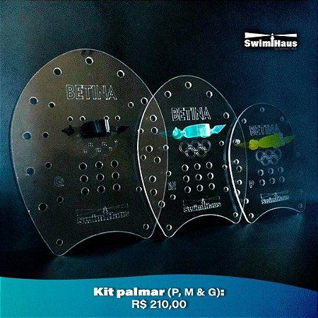 Kit Palmar Água P, M & G Personalizado