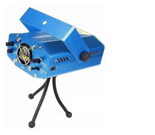 Mini Projetor Holográfico Laser Iluminaçao Festa Balada Dj