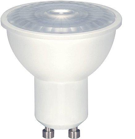 Lâmpada Led Dicroica Gu10 Bivolt Branco Quente Ou Frio