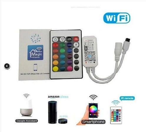 Wifi Alexa/ Google Home Controlador Transformador P/ Fita Led