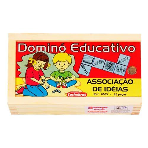 Associe ideias com o dominó (Dominó de Associação de Ideias)