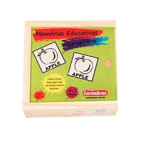Teste a memória e aprenda inglês (Memória de Inglês)
