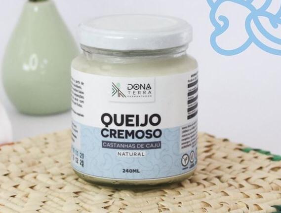 Queijo Cremoso de Castanha de Caju - 240 ml