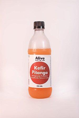 Kefir sabor pitanga – 450ml – livre de corantes e glúten