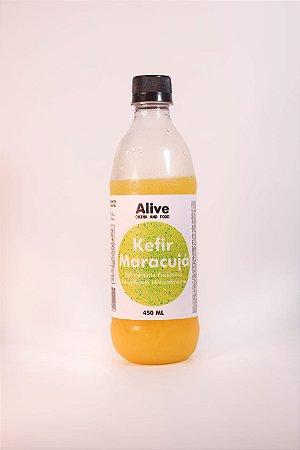 Kefir sabor maracujá – 450ml – livre de corantes e glúten