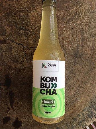 Kombucha- sabor limão com gengibre 275ml é uma bebida probiótica de origem milenar a base de chás e fermentada naturalmente. É refrescante, levemente gaseificada e de baixa caloria.