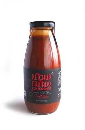 Ketchup Frutado com Morango - peso líquido 310g