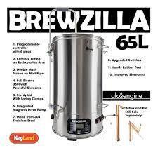 Panela Cervejeira - Single Vessel 65L BrewZilla Gen 3.1.1 with Pump - (3500w) 220- 240