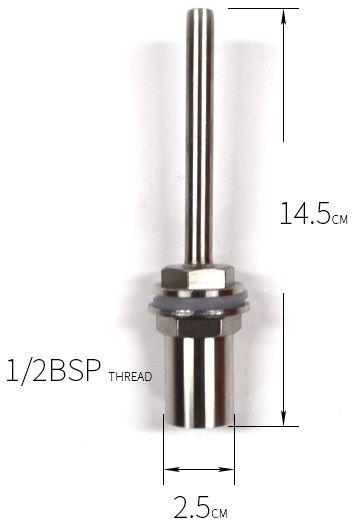 Poço Térmico Inox 140mm