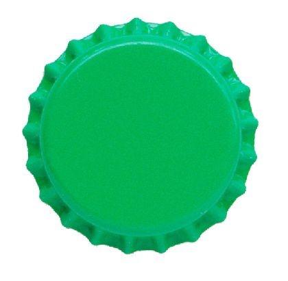 Tampinhas Pry Off - 100un - cor verde claro