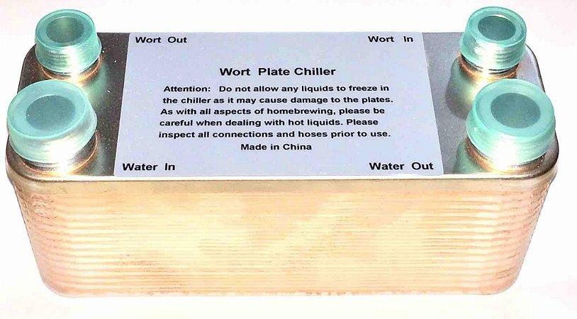 Chiller de Placas 30 Plate Wort Chiller
