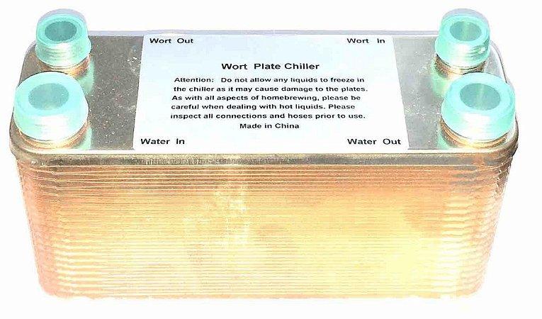 Chiller de Placas 40 Plate Wort Cooler