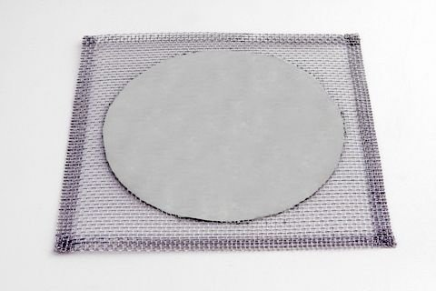 Tela de Arame Galvanizado com Disco Refratário 16x16cm