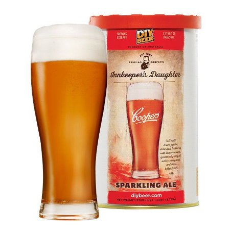 Beer Kit Coopers InnKeepers Daughter Sparkling Ale - 23l