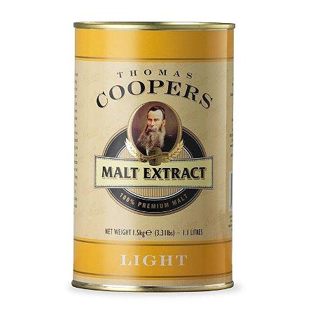 Extrato de malte sem lúpulo Coopers Light / Claro