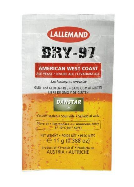 Fermento / Levedura Lallemand BRY-97 11g