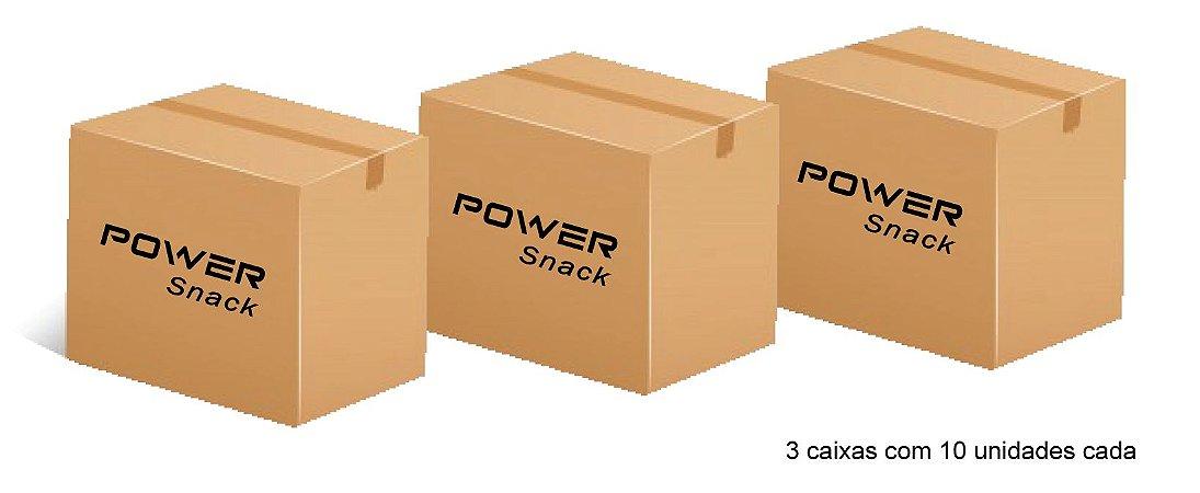 Power Snack - Chips de Batata-doce 150g - Tomate e cebolinha - kit com 30 unidades