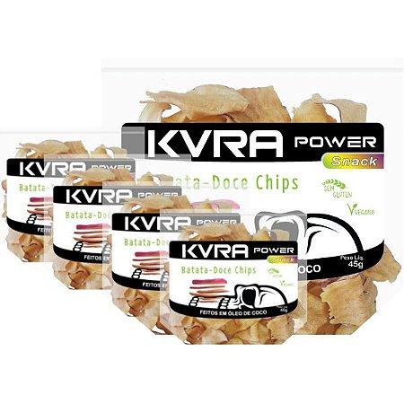 Power Snack - Chips de Batata-doce - kit com 5 unidades