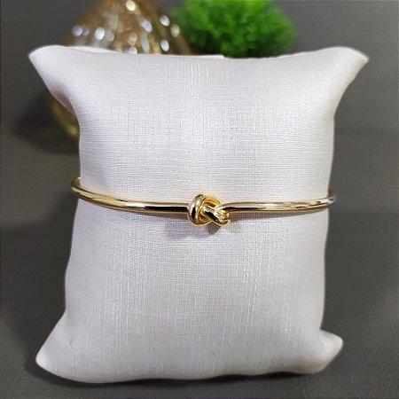 Bracelete Dourado Nó M